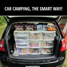 Car camping, the smart way
