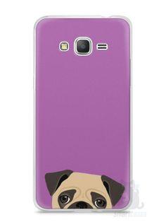 Capa Samsung Gran Prime Cachorro Pug - SmartCases - Acessórios para celulares e tablets :)
