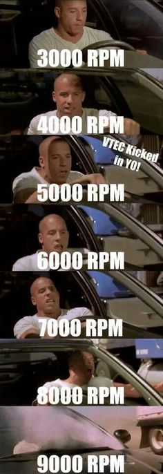 Humor Discover 6 Reasons Why Everyone Hates On Hondas Fast-and-the-Furious-VTEC Car Jokes, Truck Memes, Funny Car Memes, Car Humor, Funny Cars, Car Guy Memes, Memes Humor, Cl 500, Soichiro Honda