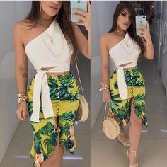 White Fashion, Love Fashion, Girl Fashion, Fashion Dresses, Womens Fashion, Fashion Design, Fashion Trends, Stylish Summer Outfits, Spring Outfits