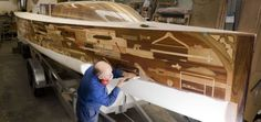 Hundreds donate wooden objects to floating Olympicsmuseum