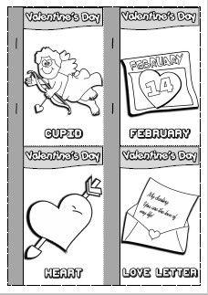 NEW! VALENTINE'S FUN PACK - mini book http://eslchallenge.weebly.com/valentines-fun-time.html