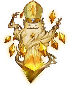 No.283 神聖千年靈魂石 Golden Great Soulstone #神魔之塔 #神魔_素材