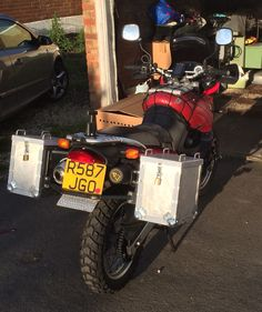 DIY Panniers and frame Motorcycle Touring, Sidecar, Projects To Try, Diy, Adventure, Vehicles, Frame, Motorbikes, Motorcycles