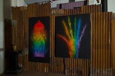 X-Rainbow hanging by SHOK-1, via Flickr