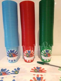 PJ MASKS Giorgia and Lorenzo's 5th birthday party   CatchMyParty.com