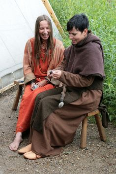 Haithabu Monk Monk Costume, Viking Reenactment, Anglo Saxon, Married Woman, Coming Of Age, What Is Life About, Survival Skills, Larp, Costumes
