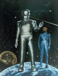 The Day The Earth Stood Still by Bernard Herrmann - Studio recording sessions with Theremin for the movie soundtrack Fiction Movies, Science Fiction, Robert Wise, Space Story, Sci Fi Films, Classic Sci Fi, Famous Monsters, Sci Fi Fantasy, Sci Fi Art