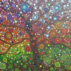 dot mandala patterns