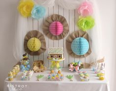 Little Big Company The Blog: Pastel themed Easter Party by Bistrot Chic