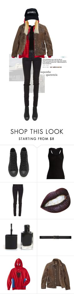 """my twisted little mind"" by avintagemystery ❤ liked on Polyvore featuring Converse, Skin, Yves Saint Laurent and Timberland"