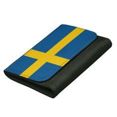 Sweden flag wallet