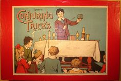 Spear Large Boxed Magic Set-ca.1920s/30s-Tricks & Instructions-Very Fine…