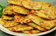 Chrumkavé zeleninovo-zemiakové placky