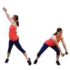 pregnancy workout routine woodchoppers