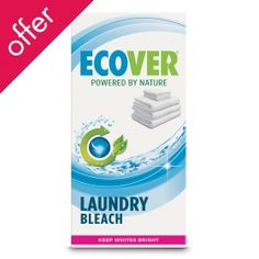 Laundry bleach has extremely negative effects on the environment until this new Eco friendly bleach has finally been launched