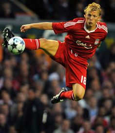 Dirk Kuyt, incredibly frustrating at times, insanely clutch at others, overall a model professional, I will never forget his hattrick against Man U!