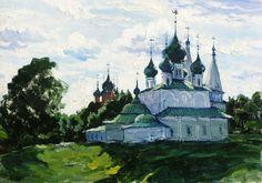Качанов В. Церковь в Ярославле.1971