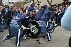 Seahawks' Blue Thunder