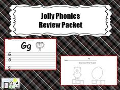 Jolly Phonics Review Packet