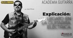 Explicación de la técnica de legato en guitarra eléctrica