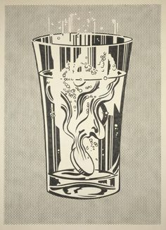 roy #lichtenstein - alka seltzer (this might be a painting, but marking his influence on poster art)
