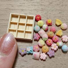 miniaturefood japanesesweets