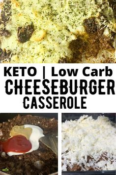 Quick Low Carb Keto Cheeseburger Casserole is a healthy dinner recipe made with lean ground beef which is flavored with Avocado Oil Mayonnaise, Sugar-Free Ketch Easy Casserole Recipes, Casserole Dishes, Cheesy Recipes, Quiche Recipes, Chicken Recipes, Chicken Stuffing Casserole, Cheeseburger Casserole, Crockpot Chicken And Dumplings, Ground Beef Recipes Easy