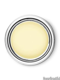 The 11 Paint Colors That Will Be Hot Next:  pictured is Pittsburgh Paints #TurningOakleaf ATC-38 (pale, luminous yellow), but the other colors are great, too, especially the varying grey shades.