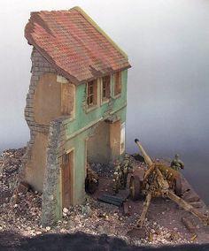 Budapest 1944 1/35 Scale Model Diorama