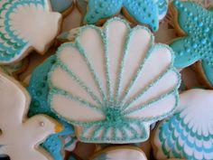 seashell cookie