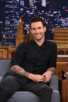Adam Levine on September 2014 -- (My pin number 200 is for Adam Levine. Love you for   ever ♥♥♥♥♥♥♥♥♥♥)