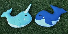 Sea Critter Blue Whale with Stars Eco Friendly by SavageSeeds