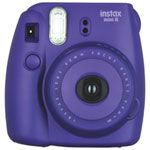 (INSTAX M8 PLP)Instax Mini 8 Instant Camera Kit Purple