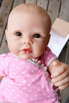 31a382e1a73f8 This is an Ashton-Drake So Truly Mine lifelike baby doll. It s just as  beautiful as their collector dolls but made for play (ages A treasure for  any little ...