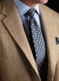 Ancient Madder & Tweed: Paired with a tweed sports jacket, they're as conservatively colorful and slightly idiosyncratic today as ever.