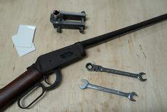 Winchester démontage et remontage du canon - Winchester 1894, Canon, Hand Guns, Firearms, Pistols, Cannon, Revolvers