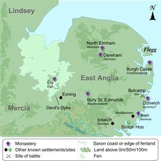 The Kingdom of East Anglia