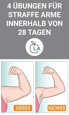 Exercises against Winkearme - 28 days Challenge to upper arms tightening - Trainingsplan - Fitness Fitness Workouts, At Home Workouts, Fitness Pilates, Training Workouts, 28 Day Challenge, Workout Challenge, Muscle Fitness, Health Fitness, Mens Fitness