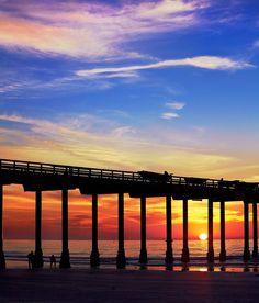 # http://bestwesterncalifornia.com/pinterest?cm_mmc=FM-_-Pinterest-_-Pinpg-_-CA  Sunset at the Pier, La Jolla Shores San Diego, #California