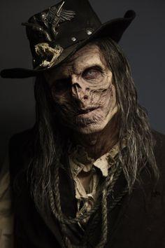 Untitled by joelharlow undead dead zombie gunslinger western cowboy cosplay costume LARP LRP Art Zombie, Zombie Makeup, Dead Zombie, Ghost Makeup, Horror Makeup, Sfx Makeup, Costume Makeup, Halloween Makeup, Arte Horror