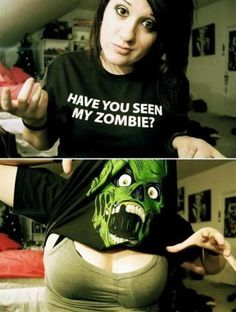 Do you want to see my Zombie?