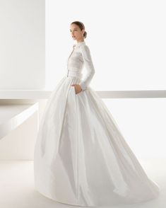 Rosa Clara Wedding Gowns 2013 Lookbook featuring Barbara Palvin