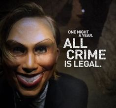purge masks for halloween - Google Search