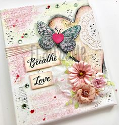 Mixed Media Artwork, great for Valentine, Birthday, or Wedding Anniversary Gift