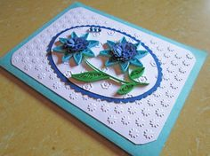 Mother's Day Card/ Quilling/ Mothers Day Card/ Paper Quilling / Happy Birthday Card/ Blank Greeting Card/ All Occasion Card/ Card for Mom