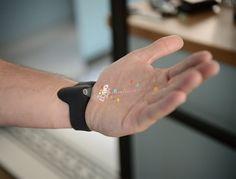 Futuristic Wrist Projector