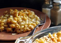 Macaroni and Cheese Served