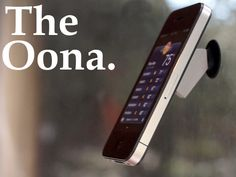 The Oona iPhone holder/stand