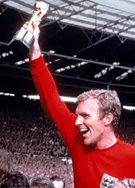 Bobby Moore , the only English captain to lift the world cup and a fellow east Londoner